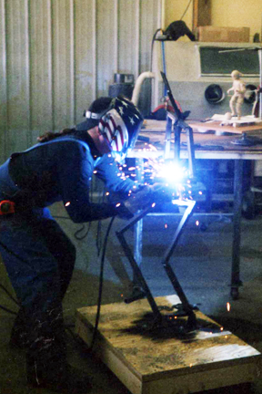 Charlie welding armature